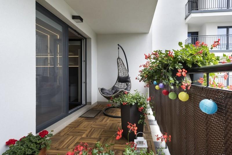 Balkon w mieszkaniu